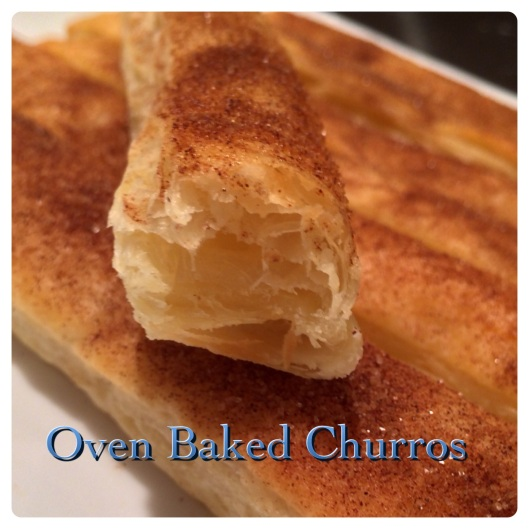oven baked churros title