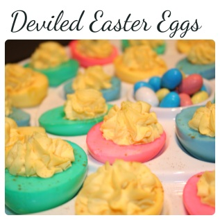 deviled easter eggs